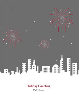Newyear10 Greeting Card (4x55)